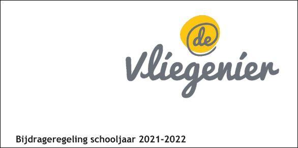 Bijdrageregeling schooljaar 2021-2022
